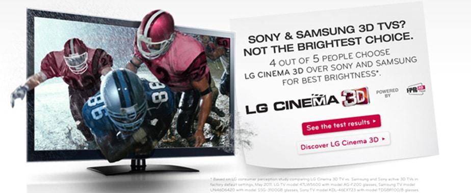 LG LED 3D Smart TVs