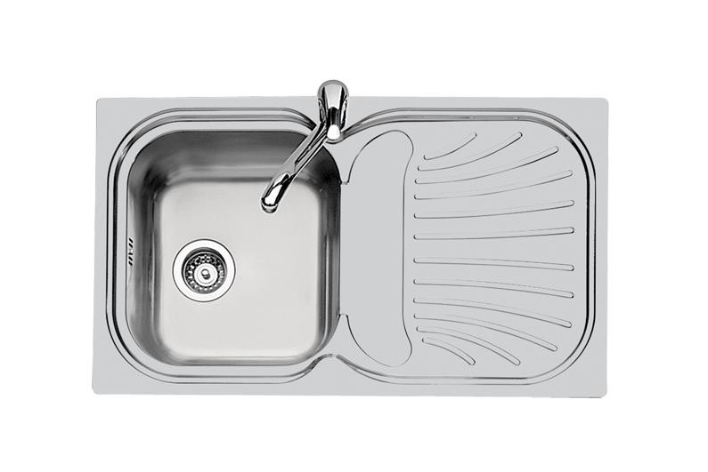 Foster 1 Bowl Stainless Steel Kitchen Sink 1961-06 Vitel Malta