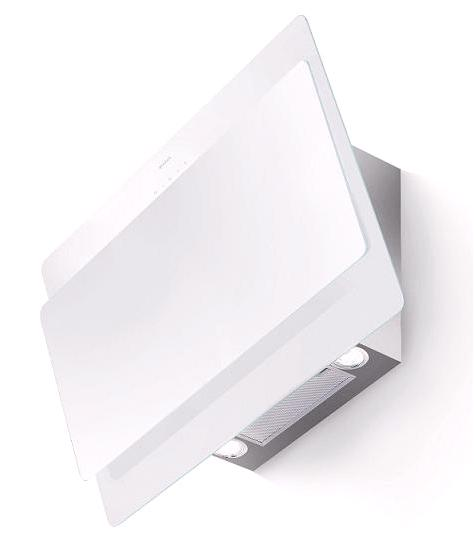 faber cocktail 80cm wall cooker hood white