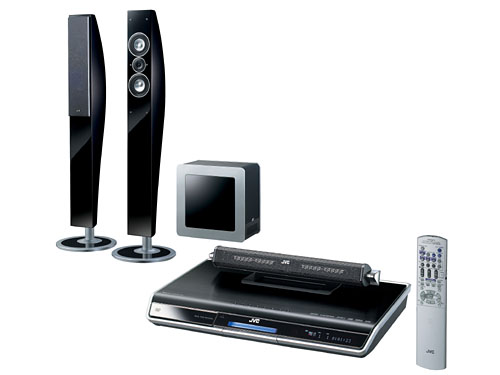 JVC DD8 HIGH FIDELITY SURROUND SYSTEM