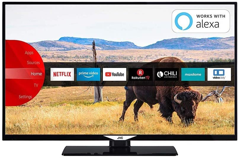 JVC LT-24VHQ52I HD READY TV Monitor SMART