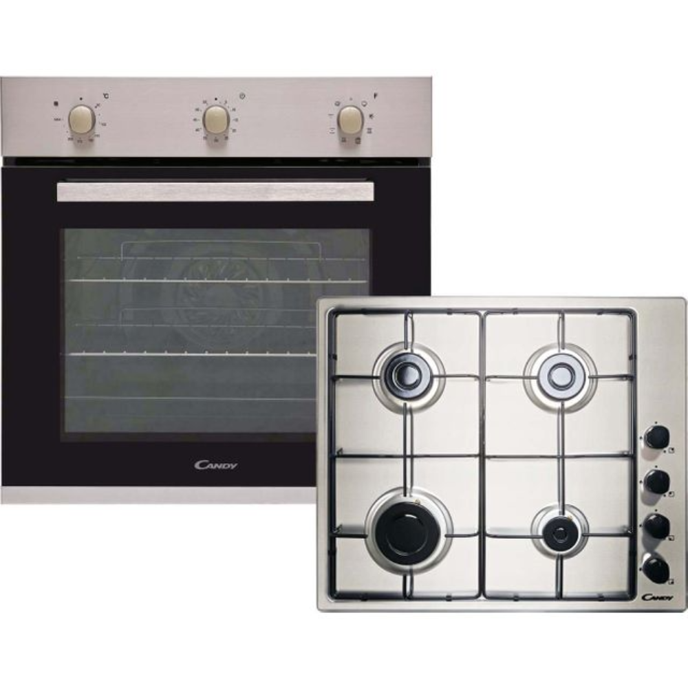 CANDY Electric Oven & Gas Hob – CGHOPK60XE Pack