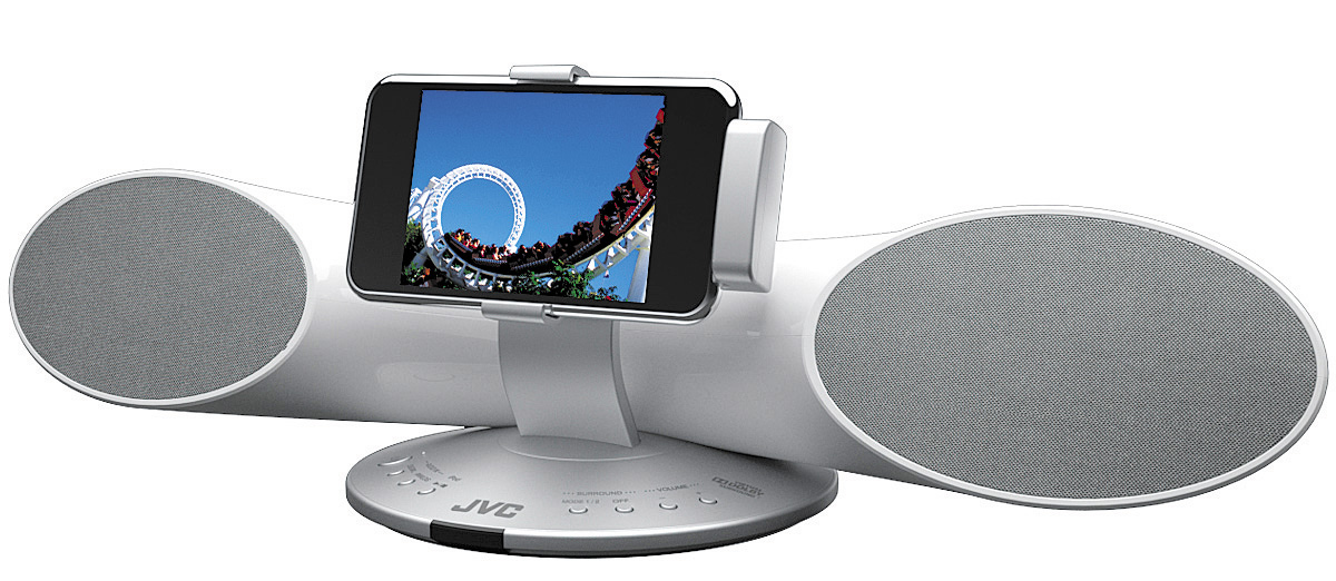 JVC XS-SR4 I Phone Dock